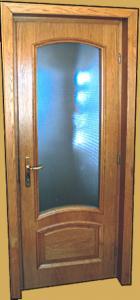 Usi interioare din lemn masiv