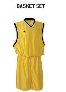 Echipament sport baschet (short, tricou) Kelme Basket Set 78211