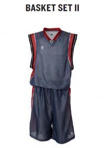 Echipament sport baschet (short, tricou) Kelme Basket Set II 78212
