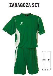 Echipament sport fotbal (short, tricou, jambiere ) Kelme Zaragoza Set 78215