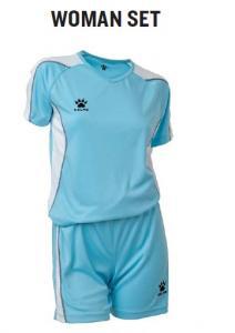 Echipament sport (short si tricou) Kelme Woman Set 78210