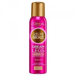 Autobronzant L'Oreal Sublime Bronze Dream Legs Airbrush Wash Off Tan, 150ml