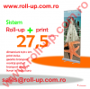 Roll-up - 27.5 Euro +tva - cel mai ieftin sistem expozitional