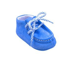 Mocasini blu
