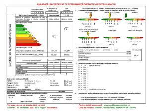 Certificat energetic audit energetic
