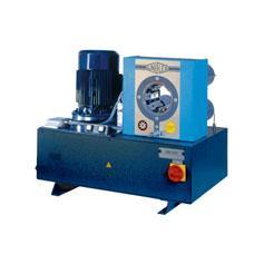 Prese sertizat furtunuri hidraulice 400 Volt, UNIFLEX HM-200 Ecoline
