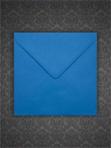 Plic patrat mic Albastru Turcoaz 130 x 130 mm