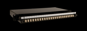 Patch panel fibra optica 24 porturi SC/PC OM2 simplex, AFL Hyperscale