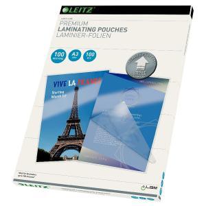Folie LEITZ UDT pentru laminare la cald, A3, 100 microni 100 folii/top