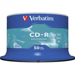 CD-R Verbatim DATALIFE 52X 700MB 50PK Spindle Extra Protection
