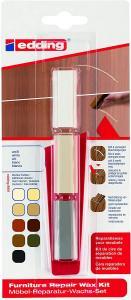 Kit Edding 8901, ceara pentru reparatii mobila, alb, blister