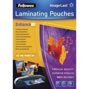 Folie pentru laminare, A3, 80 microni, 100 coli/top