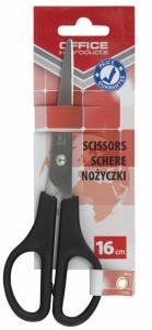 Foarfeca otel, 16cm, Office Products - maner negru