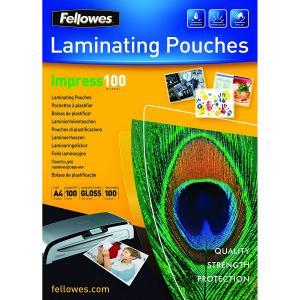 Folie pentru laminat, A4, 100 microni, 100 coli/top