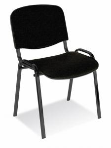 Scaun conferinte, stofa, Office Products Kos Premium - negru