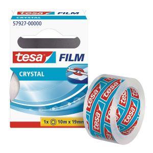 Banda adeziva Tesa, Film Crystal, 10 m x 19 mm