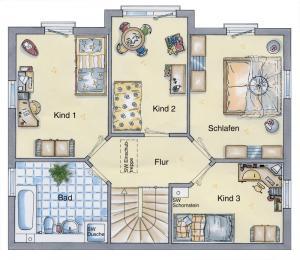 Casa din caramida.Sediu firma 126 - etaj