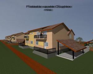 Proiect case mici cu balcon