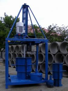 Utilaj pentru fabricat tuburi din beton