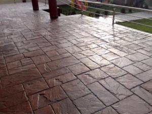 Scule matrite beton amprentat