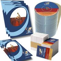 CD Print - Pachet Complet - Personalizare DVD - MiniDVD, multiplicare industriala - Lacuire CD UV