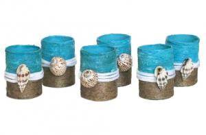 Set 4 inele servetele