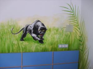 Pictura decorativa camera copii