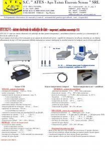 HTCO2.V2 - sistem de masurare temperatura,umiditate si CO2 in ciupercarii si sere