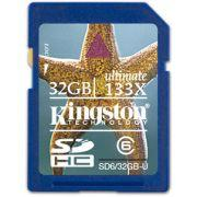 USB Kingston SDHC 32GB Class 6 Ultimate Secure Digital Card