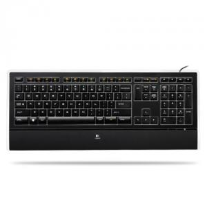 Logitech illuminated keyboard