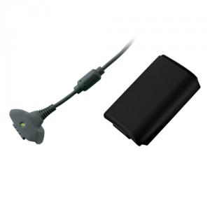 Xbox 360 kit de incarcare din mers, negr