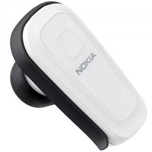 Casca Bluetooth BH-300 Nokia, incarcator AC-3E, white