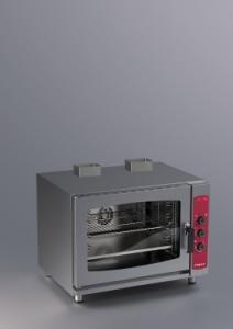 Cuptor pe gaz cu convectie 5 tavi GN1/1 sau600x400