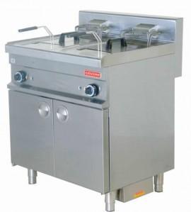 Friteuza pe gaz 10+10 litri