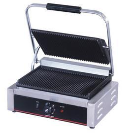 Toaster panini simplu cu mecanism prin apasare pe placi metalice