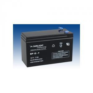 Acumulator stationar Sunlight 12V 7Ah borne F2 6.3 mm