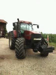 Tractor case mx