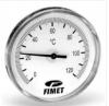 "Termometru axial 0-120°C, imersie 100 mm, teaca de imersie cu racord G 1/2""B, DN cadran 80"