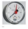 "Manometru axial 1/4"", ø63mm, cu ac indicator referinta,"