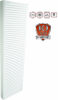 Calorifer din otel vertical copa konveks 20x600x1600