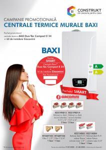 Centrale termice condensatie baxi