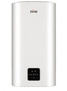 Boiler electric, 100 litri, control internet, wi-fi, doua rezervoare interne, Ferroli Titano Twin