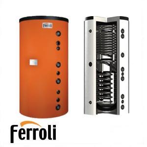 FERROLI FB2 4000 - 4000 l Puffer cu doua serpentine