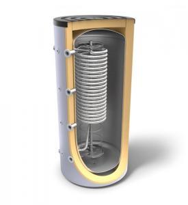 Boiler tank-in-tank, cu o serpentina sanitara, 1000 l, Tesy V 1000 95 HYG5.5 C