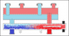 Distribuitor-colector compact cu separator hidraulic