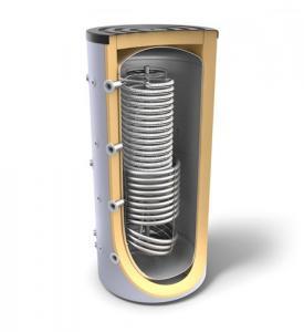 Boiler tank-in-tank, cu o serpentina sanitara si un schimbator de caldura, 1000 l, Tesy V 12 S 1000 95 HYG5.5 C