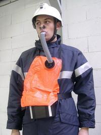 Aparat de protectie respiratorie cu oxigen chimic - pentru evacuare tip BIOCELL