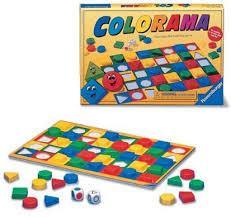 Colorama - joc de asociere