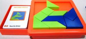 Puzzle creativ, piese din plastic