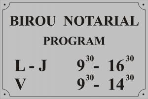 Program orar